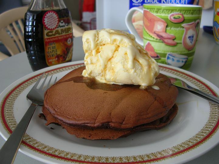 Choc Pancakes 1