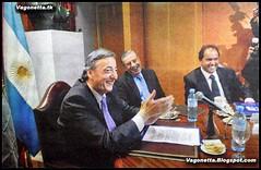 Kirchner,Mazzon y Scioli se te cagan de risa...