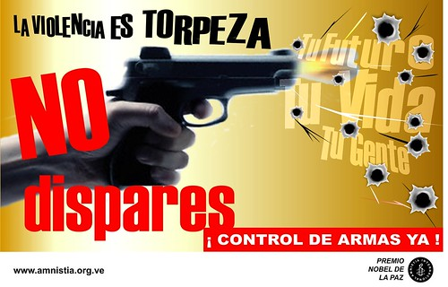 La Violencia es Torpeza. No Dispares