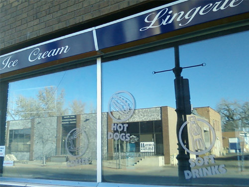 Ice Cream and Lingerie in Medicine Hat by Karyn Ellis