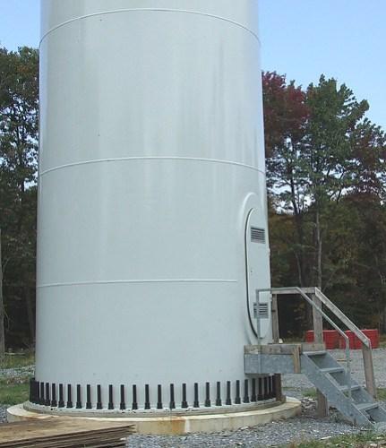wind tubine base
