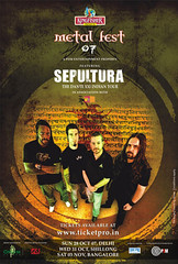 KINGFISHER Metal Fest 07 featuring Sepultura