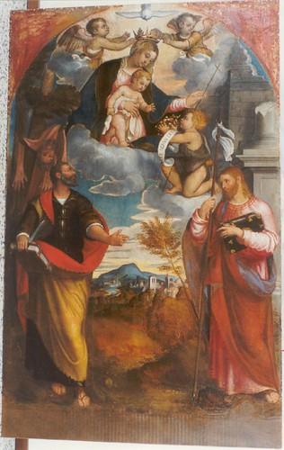 Camino, pala di san Bartolomeo