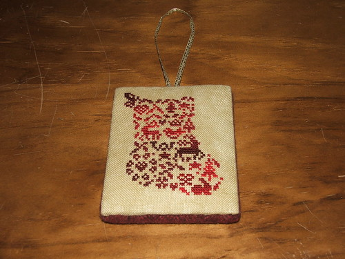 Petite French Country Stocking - JBW designs