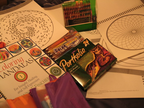 Mandala Coloring (Beginner's Mind), Minneapolis, Minnesota, January 2008, photo © 2007 by QuoinMonkey. All rights reserved.