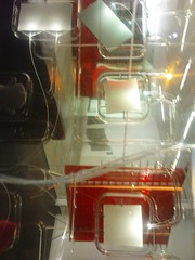 Through an ACMI pod