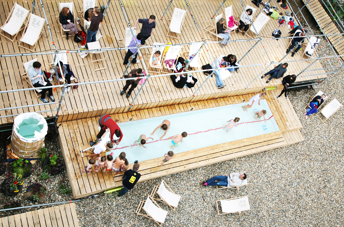 southwark lido pool