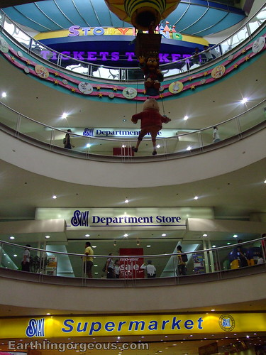 SM Fairview The Center got it all for you Supermarket, Department Store and Storyland