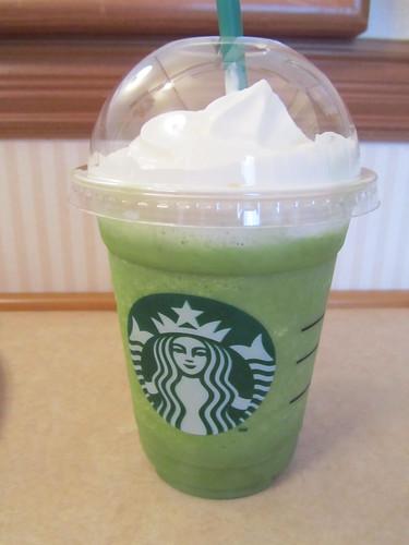 Starbucks Matcha Frappuccino