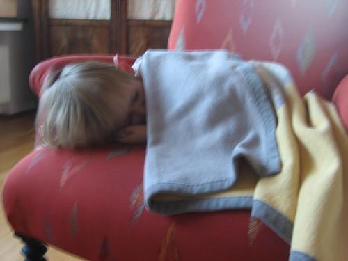 Kilian asleep