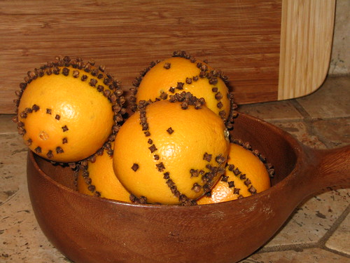 Oranges with Cloves
