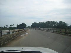 Bridge over Brahma Aranya River near Ponneri