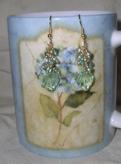 Leaf and Vine Earrings