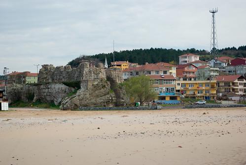 Riva castle, Riva village (pentax K10D)