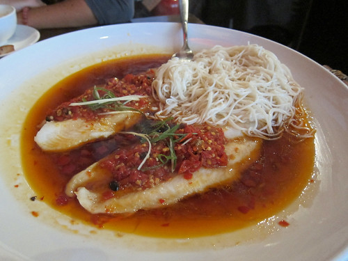 Catfish Fillets with Salted Red Chillies