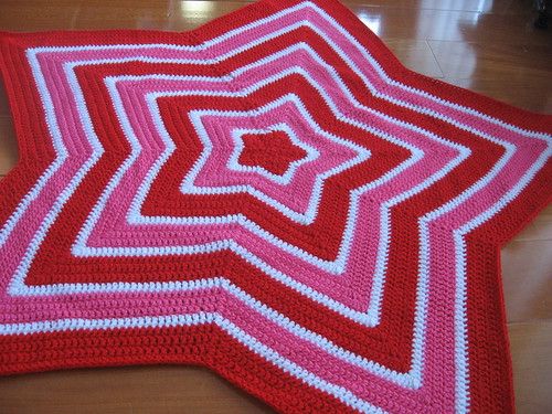Chromium Star Blanket A Whole Load Of Craft