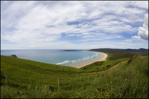 Florence Hill Lookout, Catlins Coast, New Zealand