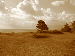 View from our old summer house on the Baltic Coast