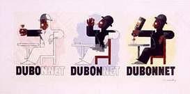 Cassandre. Poster Dubonnet, 1932.
