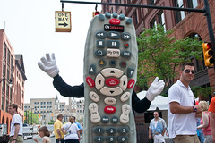 Comcast Remote Mascot Rubber Suit 2011 Festiva...