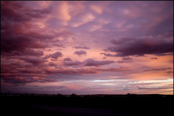 Oregon skies