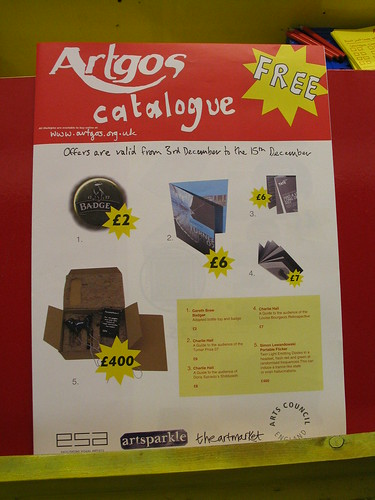 Artgos catalogue