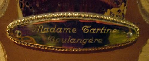 Madame Tartine, Boulangère...