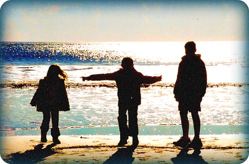 sunset silhouettes, avila beach, california