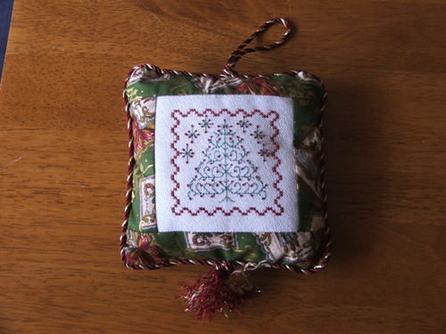 Christmas ornament exchange from Chizue