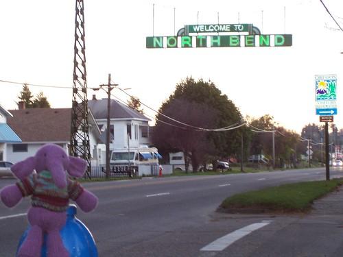 Elijah arrival in North Bend,Oregon