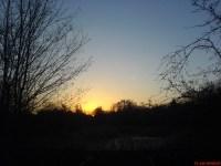 erster Sonnenaufgang in diesem Jahr