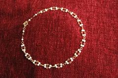 Diamond choker w. Swarovski crystals