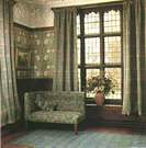 William Morris. Billiard Room, Wightwick Manor, Staffordshire.