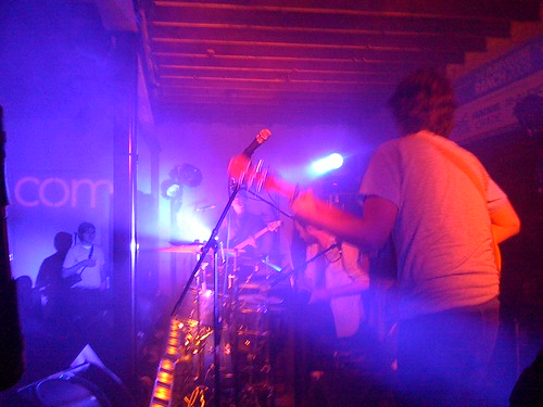 White Denim @ Austinist.com Party, Purevolume Ranch