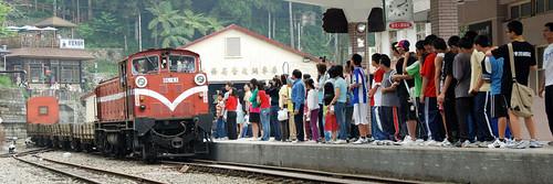 這是測試中的小火車嗎?