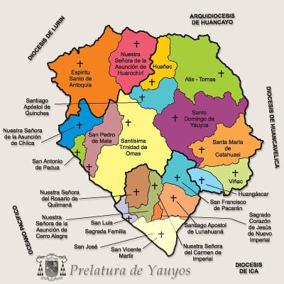 mapa prelatr