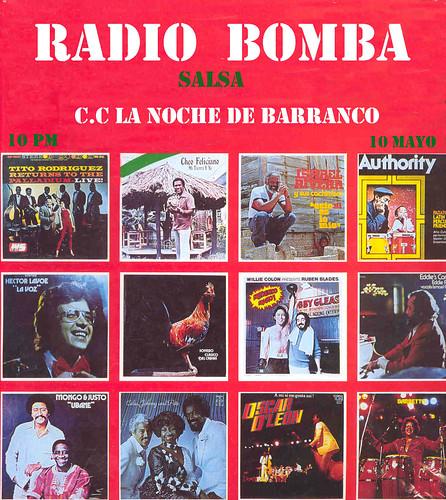 Afiche Radio Bomba