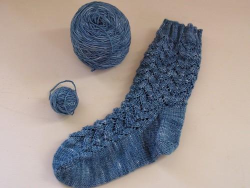 The sock whose partner I shall knit