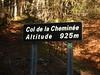 Col de la Cheminee