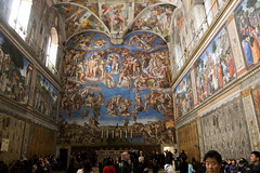 Sistine Chapel in the Vatican City