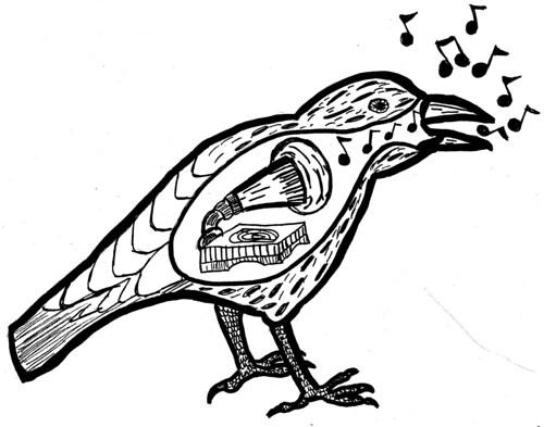 musical crow