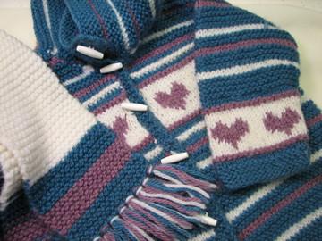 Jess - baby hearts sweater