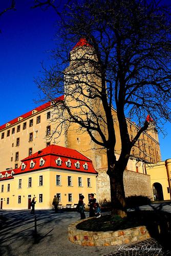 Courtyard Bratislava Castle