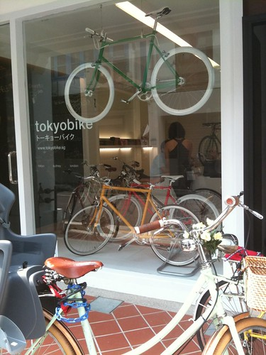 tokyobike store at haji lane