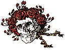 Grateful Dead Skull and Roses