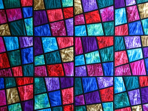 Stained Glass Quilt - Ian Mutton