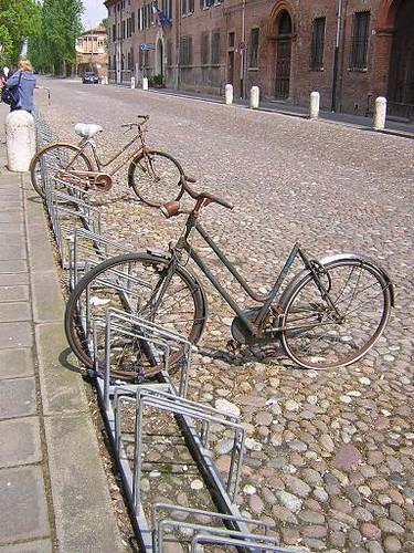 bici a Ferrara