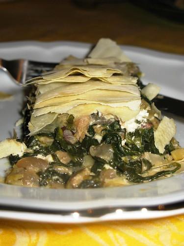Greekesque Spinach Pie