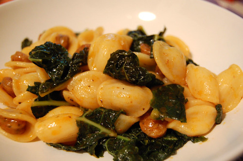 Orecchiette with Sausage and Cavolo Nero