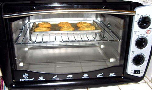 The first batch of cookies on my new oven.